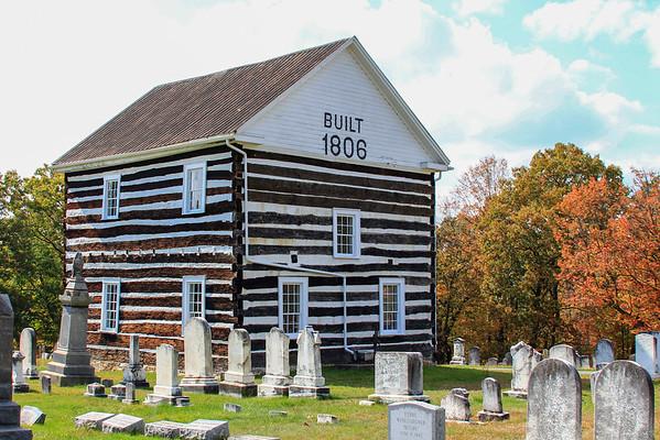 Old Log Church, Schellsburg, PA
