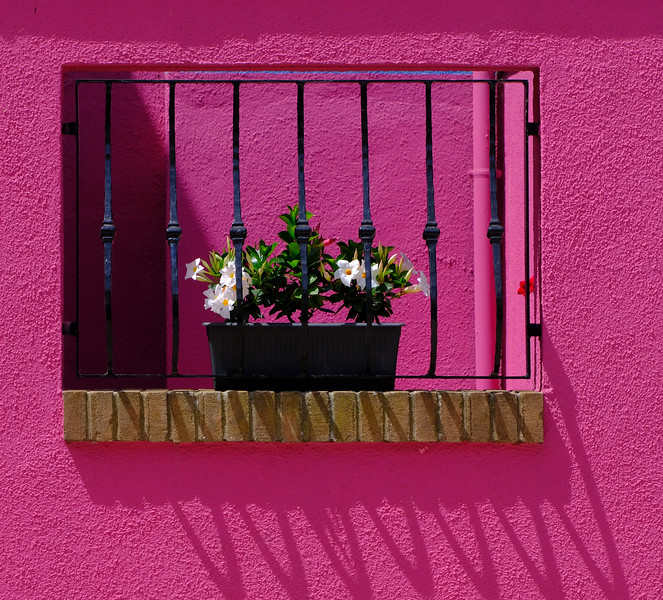Pretty in Pink Stucco