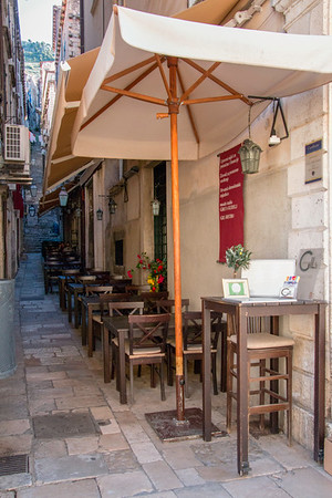 Outdoor Dining in Dubrovnik