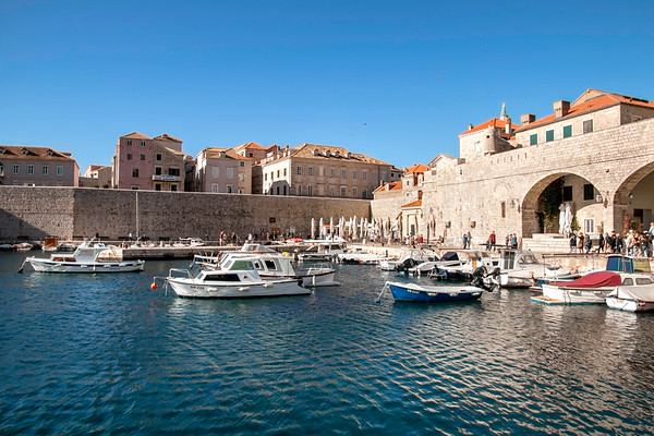 Gorgeous Port of Dubrovnik