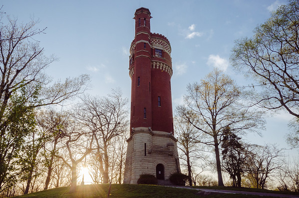 Eden Park Water Tower, Cincinnati.