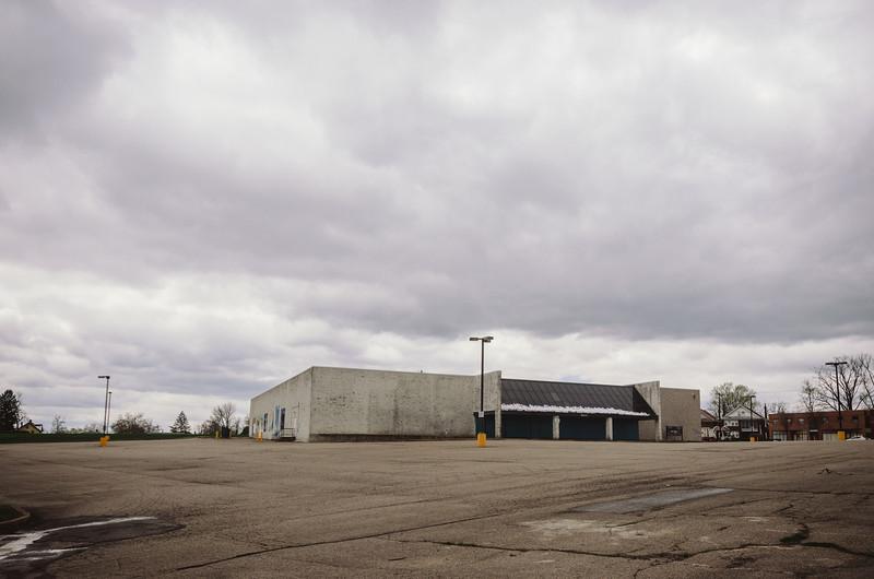 Abandoned Krogers store, Cincinnati.