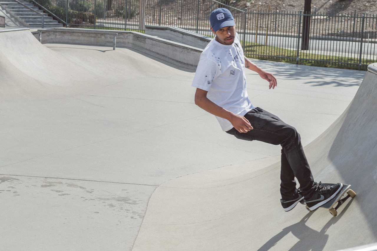 Miguel Medrano of Duarte at the skate park in Duarte. I believe it's the only skate park among the new cities served by the Gold Line.