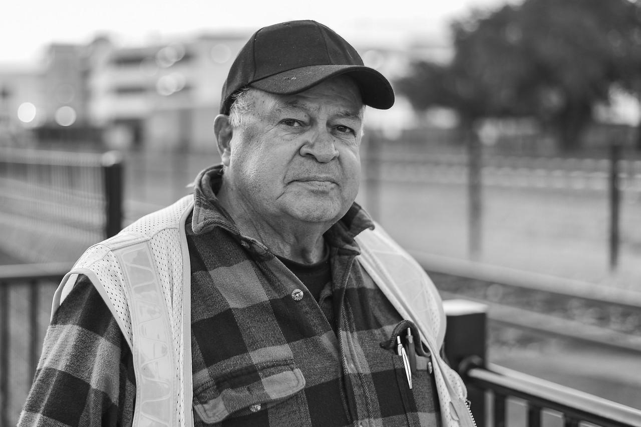 Metro Rail safety ambassador in Azusa. Need his name. Long-time bus operator for Metro.