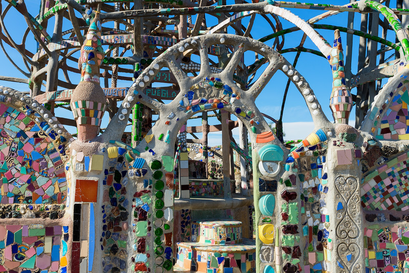 Watts Towers.