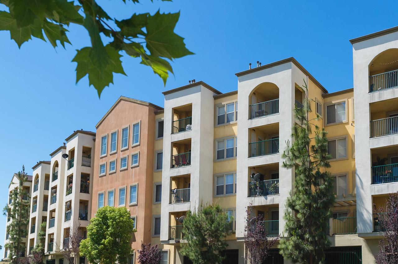 Harvard Yard Apartments in L.A. near the Inglewood border.