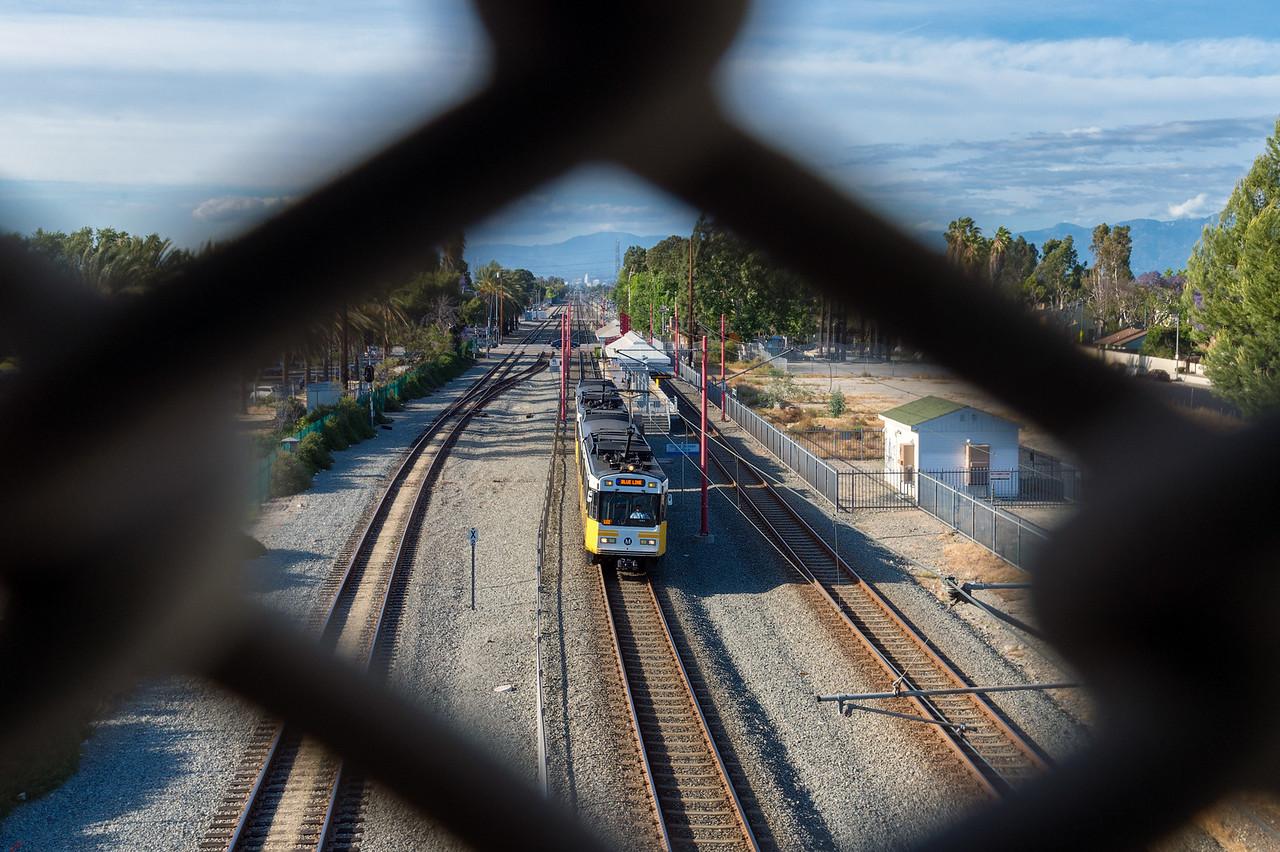 Blue Line in Watts.