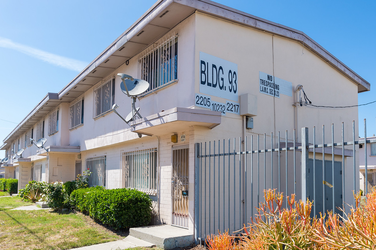 Jordan Downs Housing Project, Watts, city of Los Angeles