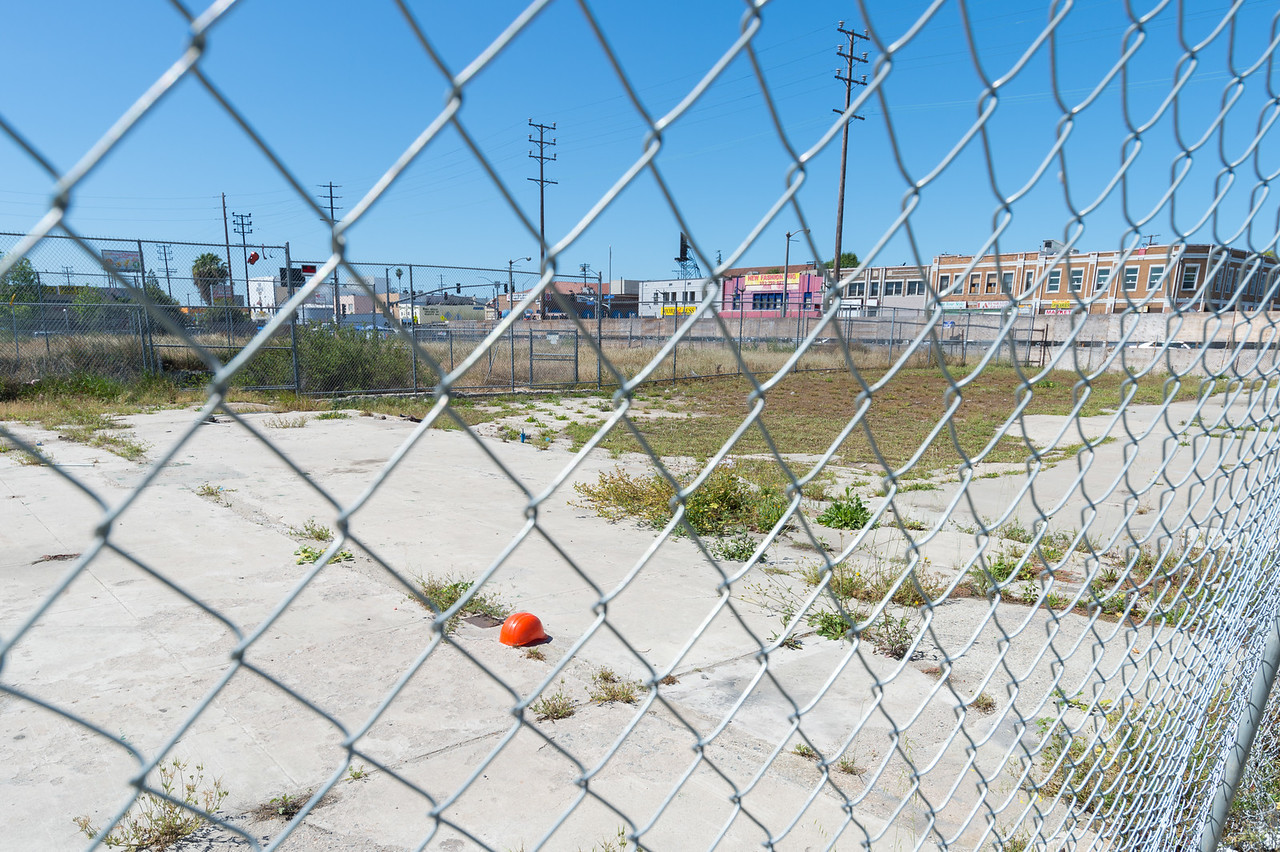 One year after groundbreaking, the site for Vermont Entertainment Village in Vermont Knolls.
