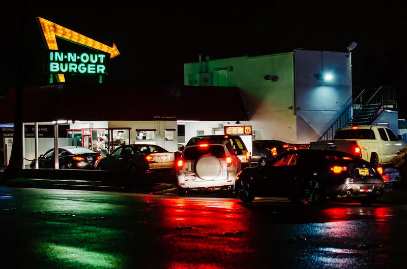 In-N-Out Burger, Pasadena, CA.