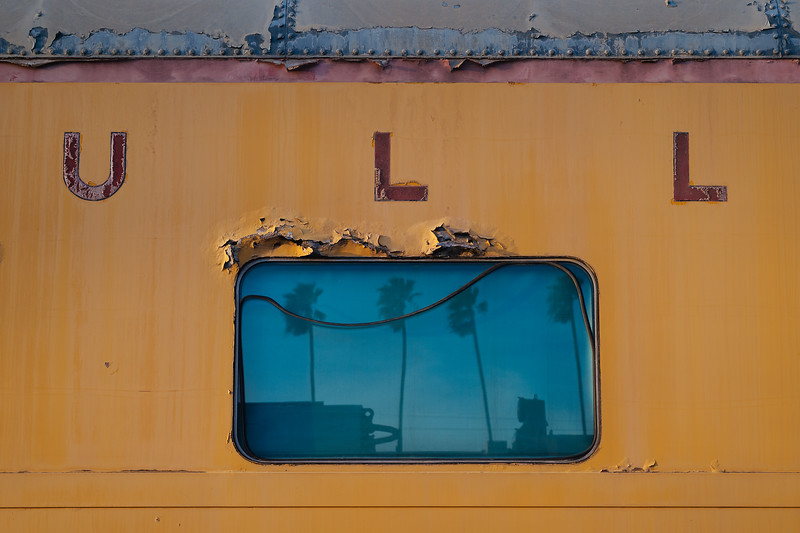 Old Union Pacific passenger car