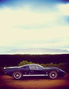 Classic car photography in Dorset, GT40 taken for the owner