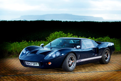 Classic car photographed in Dorset, GT40 taken for the owner.