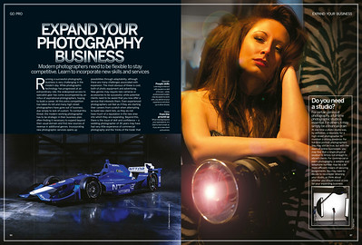 Magazine article for Digital Photographer
