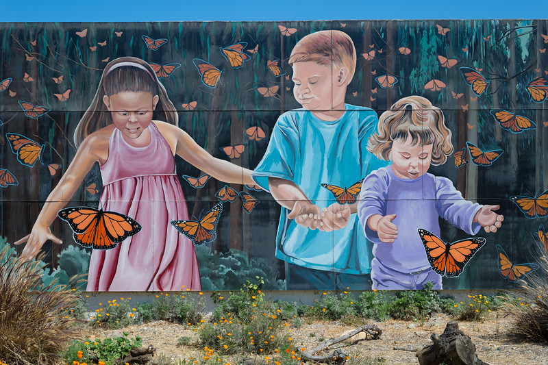 Mural, downtown Lompoc, California