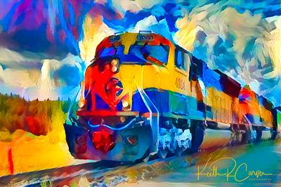 Alaska Railway, Talkeetna