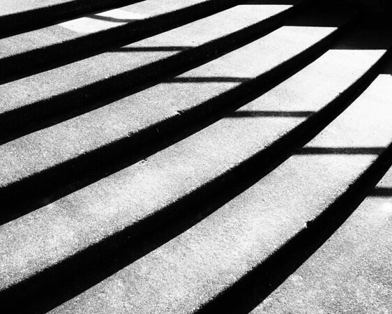 Shadows on Steps
