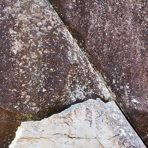 abstract with rocks