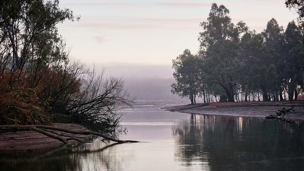 morning at the Murray