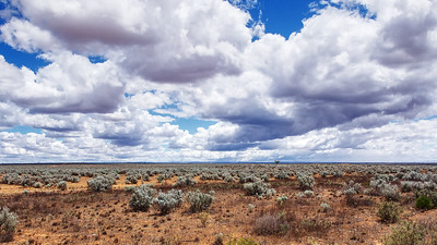 Dry Lands under Cloud (Gawler Ranges)