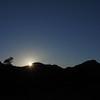 sunrise over the Warrumbungles