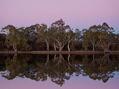 peaceful evening on the Murray