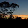 Sunset in Mungo National Park