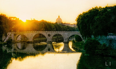 St. Peter's and Lungo Tevere