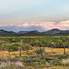 West TX mountain range