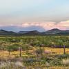 West TX mountain range
