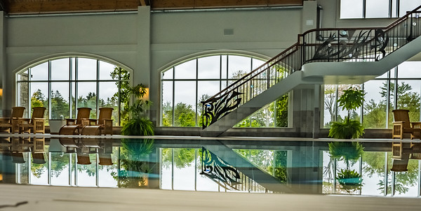 IMAGES OF FOX HARB'R RESORT  PICTURED: The swimming pool at the spa building