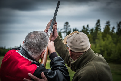 IMAGES OF FOX HARB'R RESORT  PICTURED: clay shooting