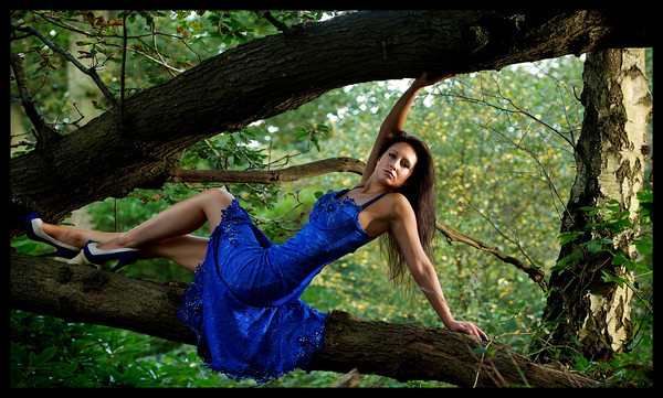 Model Photography on location in Hampshire