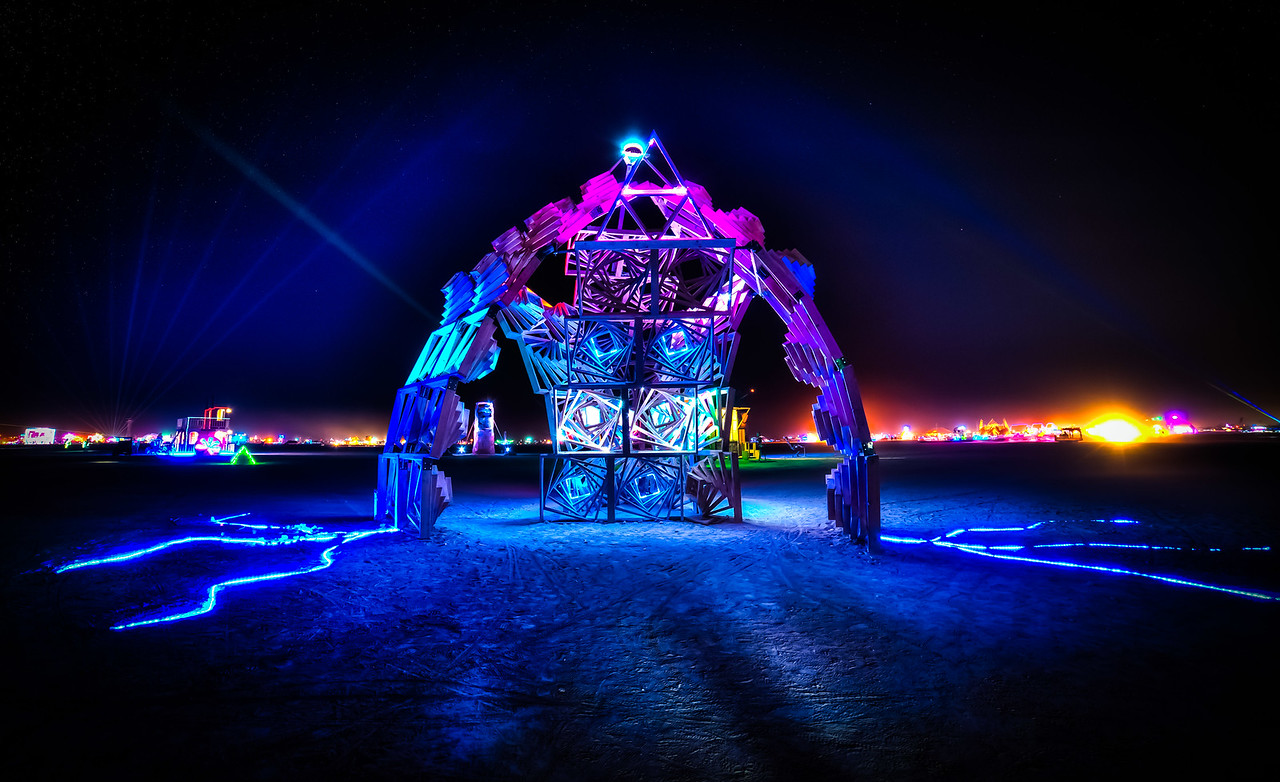 Burning Man 2013 - Art Structure