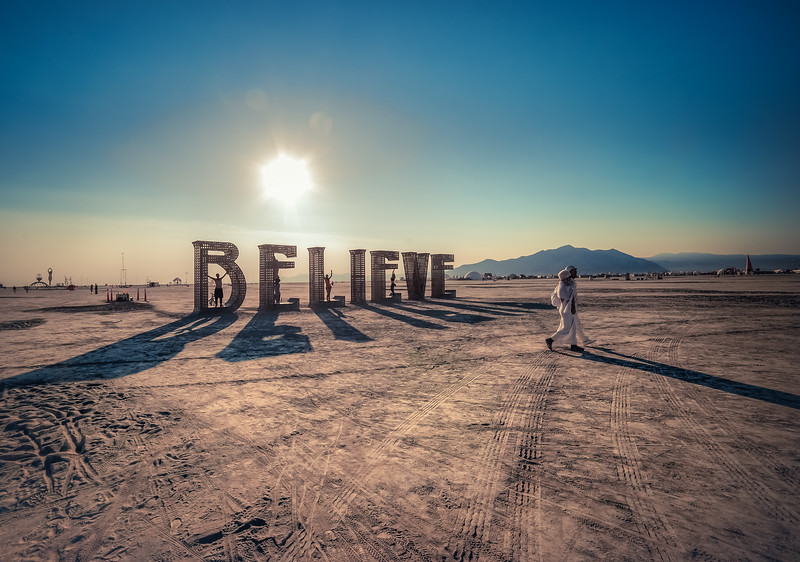 Believe Art - Burning Man