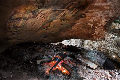 Campfire. Rock Art Remastered Series, 2021.