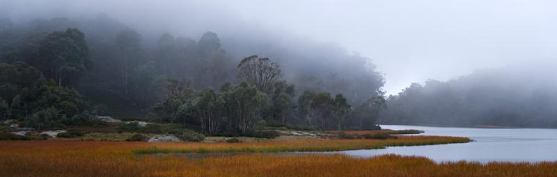 Lake Catani in Fog