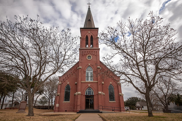 HISTORIC TEXAS PAINTED CHURCH