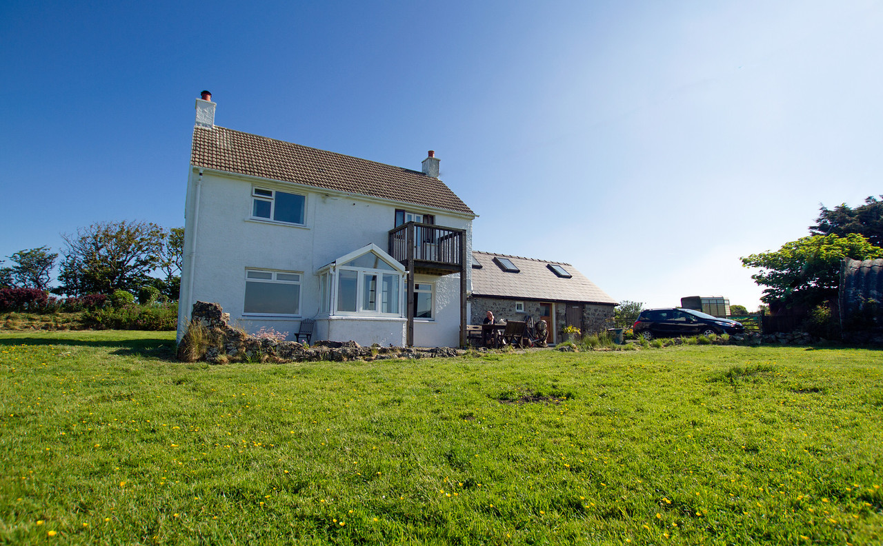 Our cottage for the week at Druidstone
