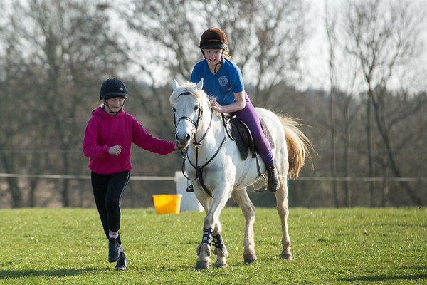 Croome Hunt Pony Club Games Training March