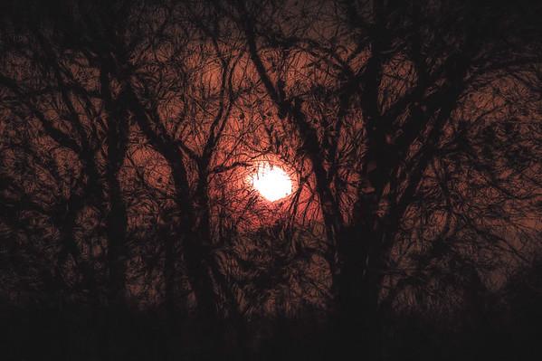 HAUNTING SUNSET