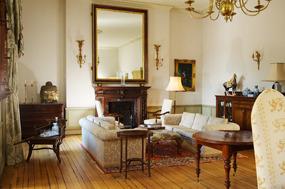 Commercial-Photography of Stately Home Interior-Dorset
