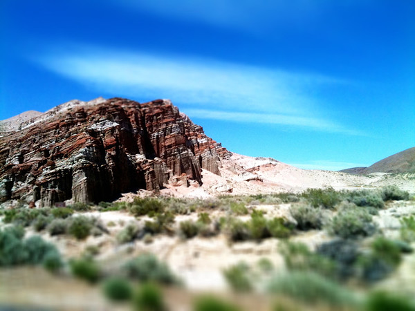 Red Rock Canyon State Park, miniaturized