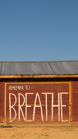 Remember to breathe inspirational iPhone and smartphone wallpaper