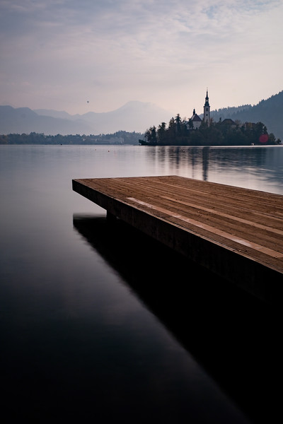 Pier At The Bled