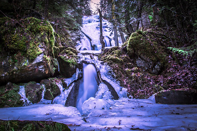 Hazelton waterfall