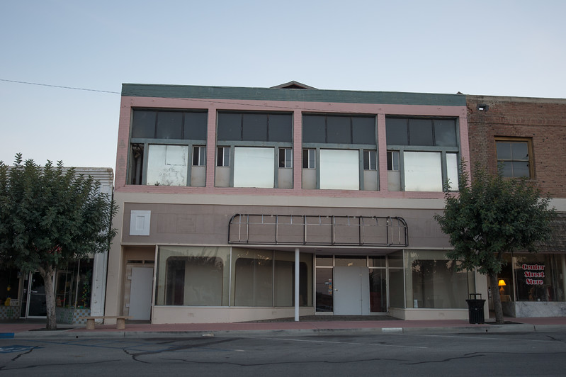 Downtown Taft, California