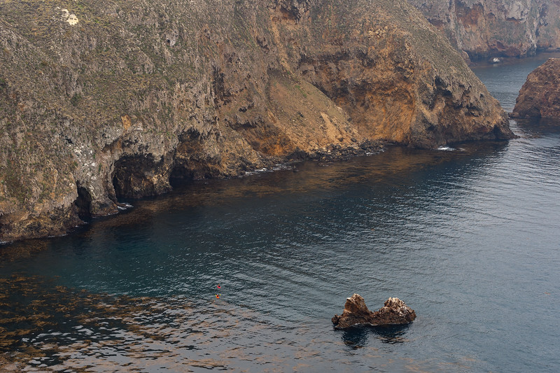 Kayakers, Santa Cruz Island