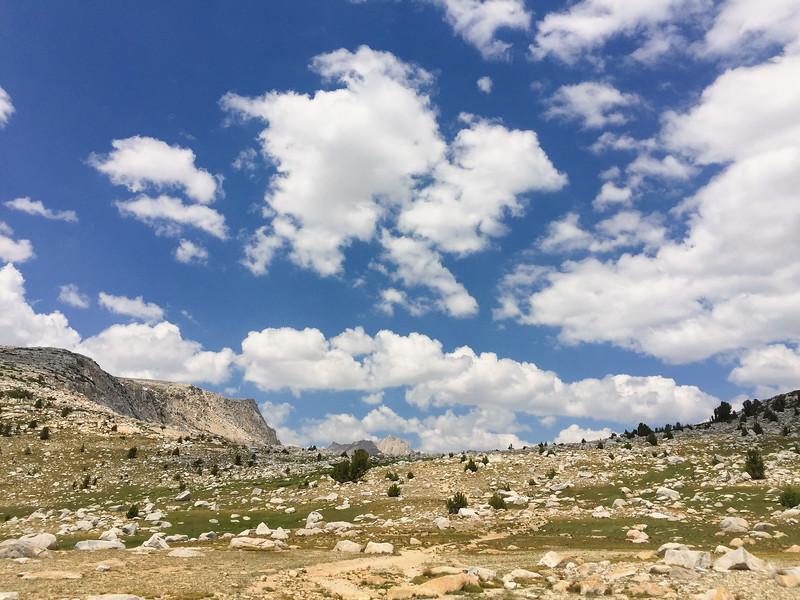 Pine Creek Pass, John Muir Wilderness, Eastern Sierra Nevada