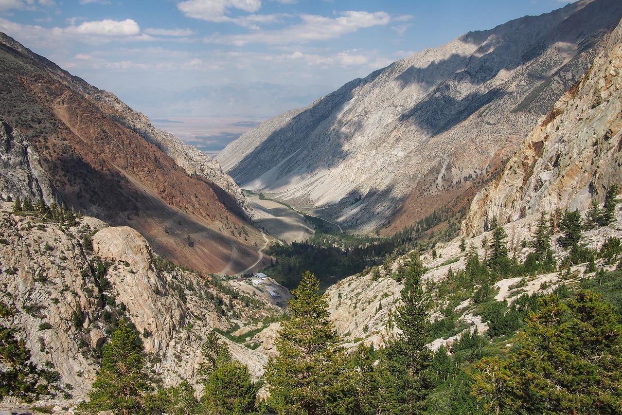 Pine Creek Canyon and Trail, John Muir Wilderness